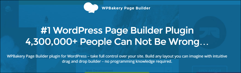 WordPress Pagebuilder Plugins