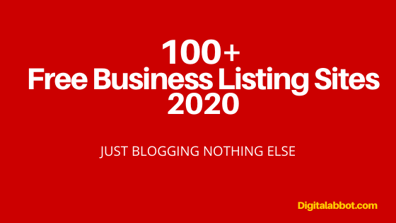 Top Free Business Listing Sites 2020