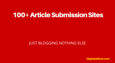Free Article Submission Sites